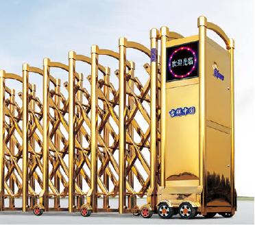 Cổng Xếp Inox 304 - MS: M156