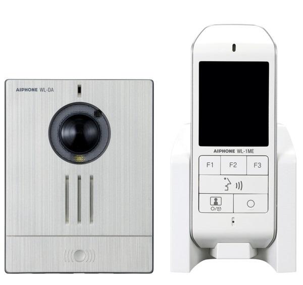 Trọn Bộ Chuông Hình Không Dây AIPHONE WL-11