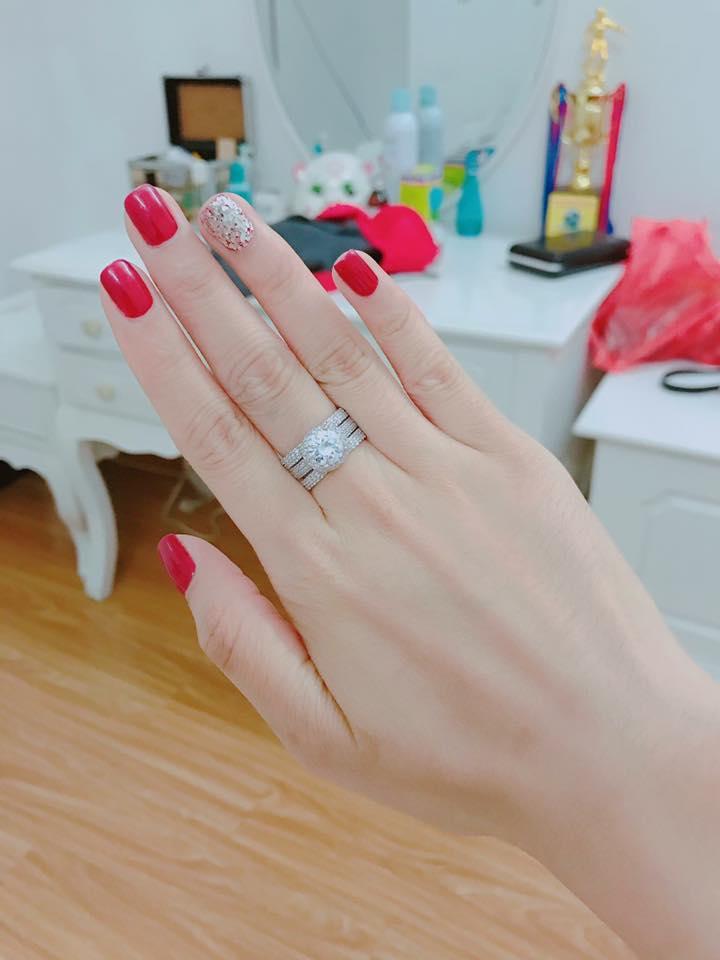 nhẫn bạc nữ phong cách italy