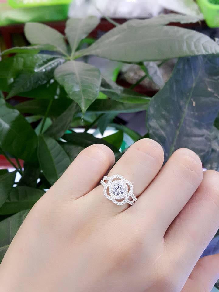 nhẫn bạc nữ cao cấp