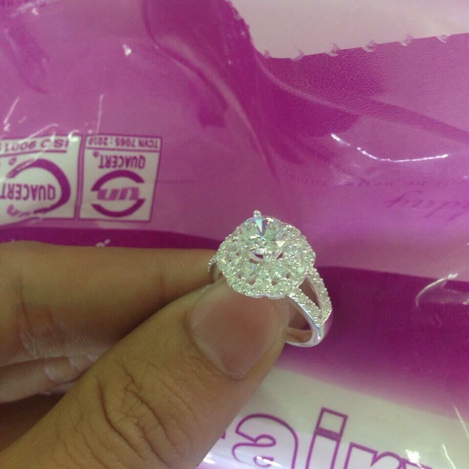 nhẫn bạc nữ đẹp
