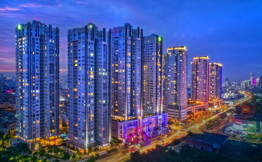 Thành phố tiện ích Sunrise City Quận 7 nổi bật trên mặt tiền Nguyễn Hữu Thọ