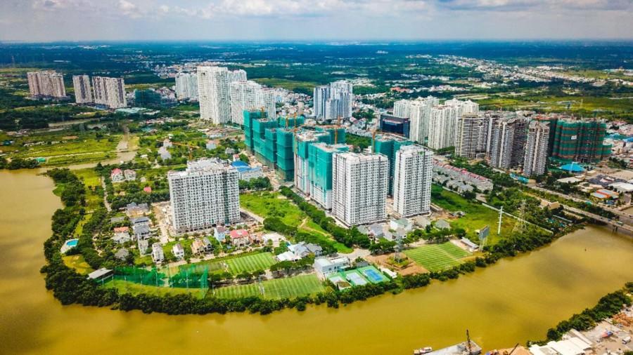 Sunrise Riverside đang bàn giao gây ấn tượng với 3 mặt giápsông tại Nam Sài Gòn
