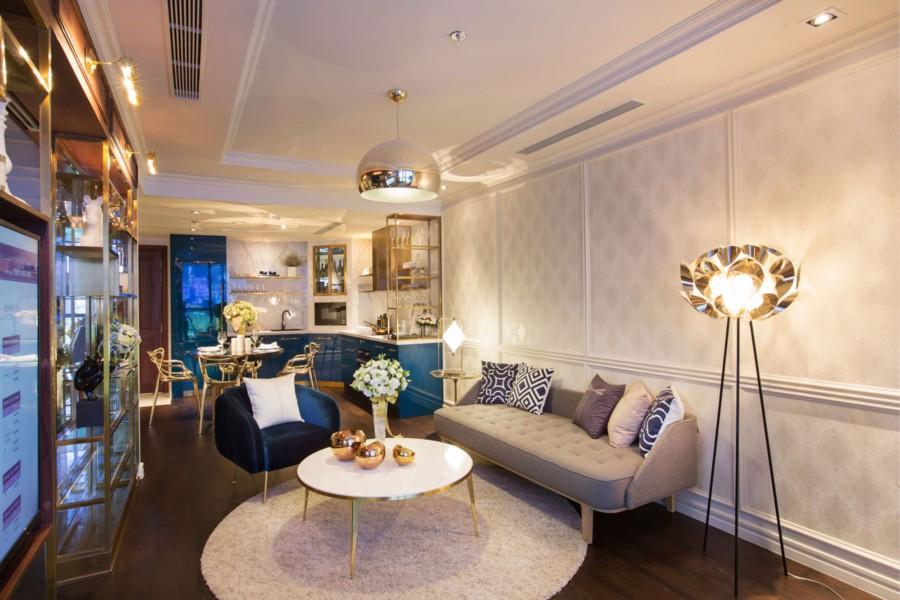 Thiết kế căn hộ The Grand Manhattan