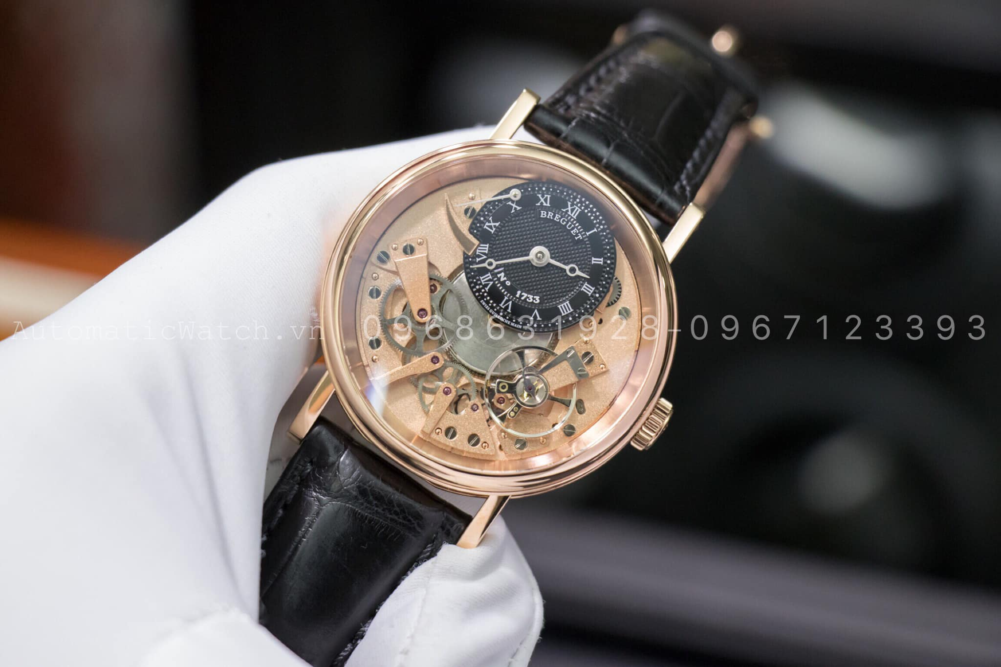 Đồng hồ  Breguet Replica Tradition 7057 Skeleton Dial Men's