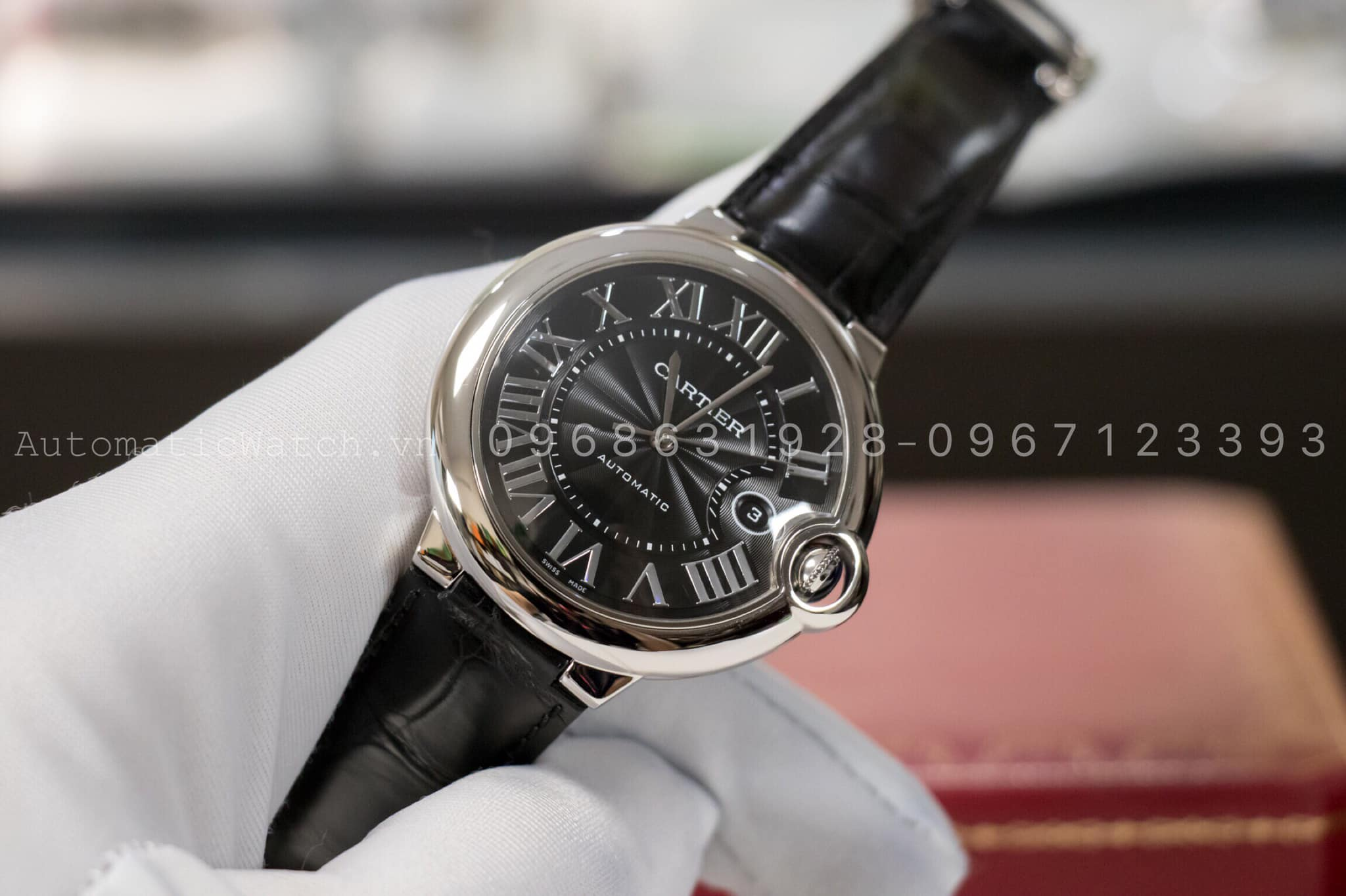 Đồng Hồ Cartier Replica Ballon Bleu de Cartier Automatic 42mm