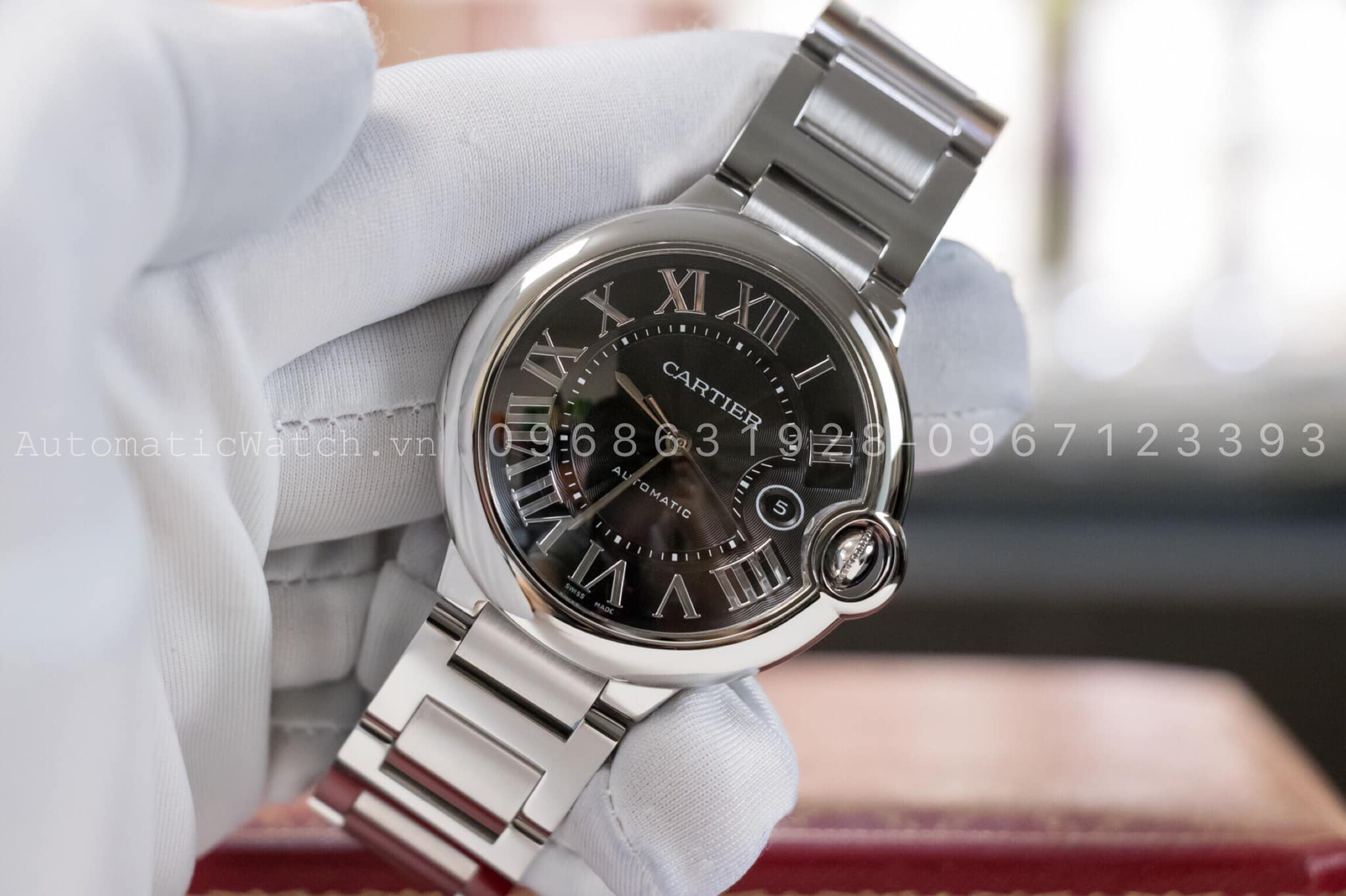 Đồng Hồ Cartier Replica Ballon Bleu de Automatic 42mm
