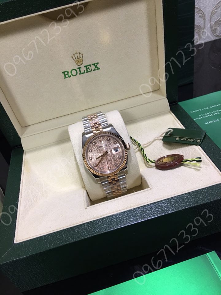 Đồng hồ ROLEX Datejust 36mm Everose Gold 116231