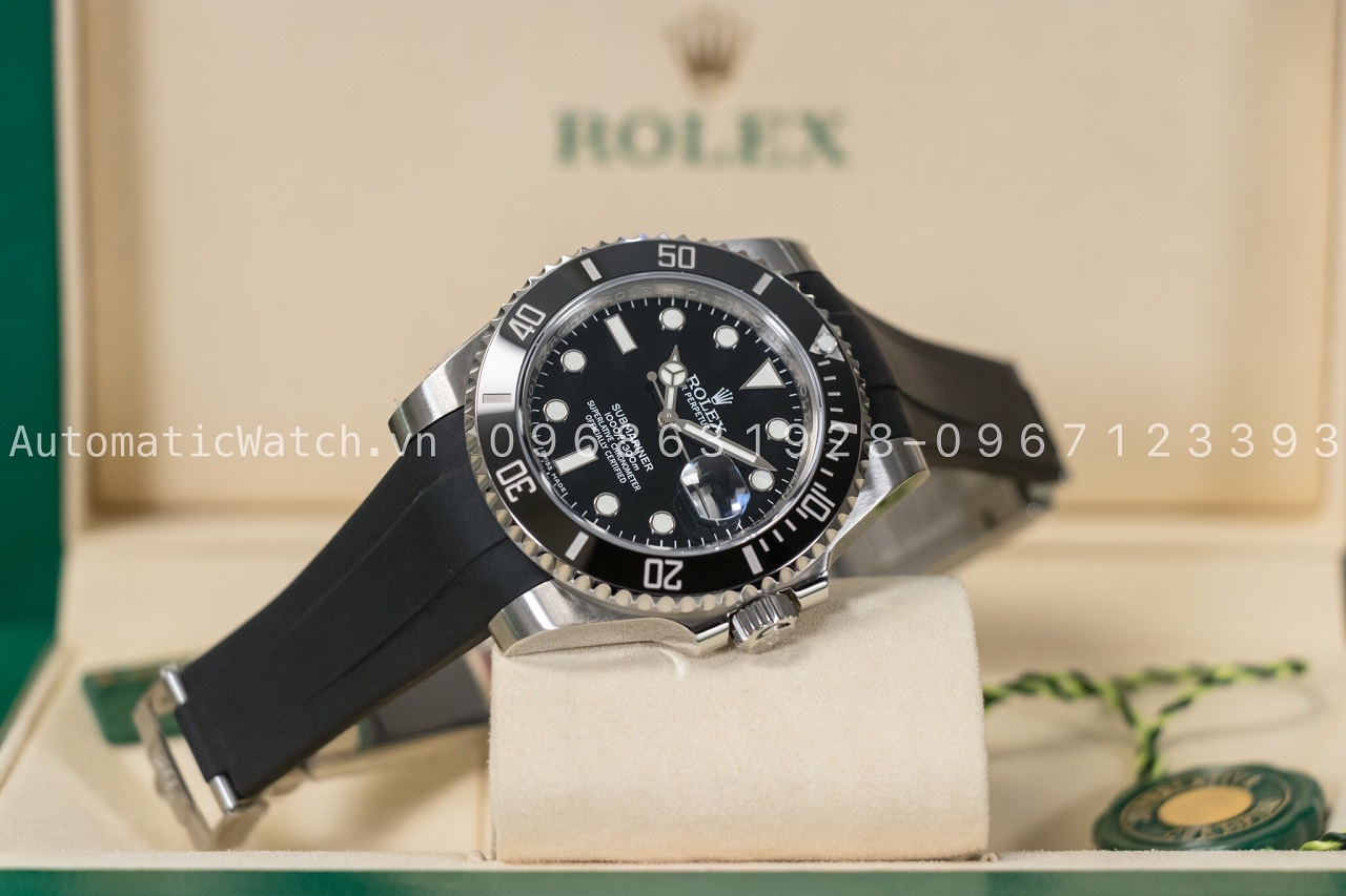 Đồng hồ Rolex Submariner Date 116610 dây cao su Rubber-B