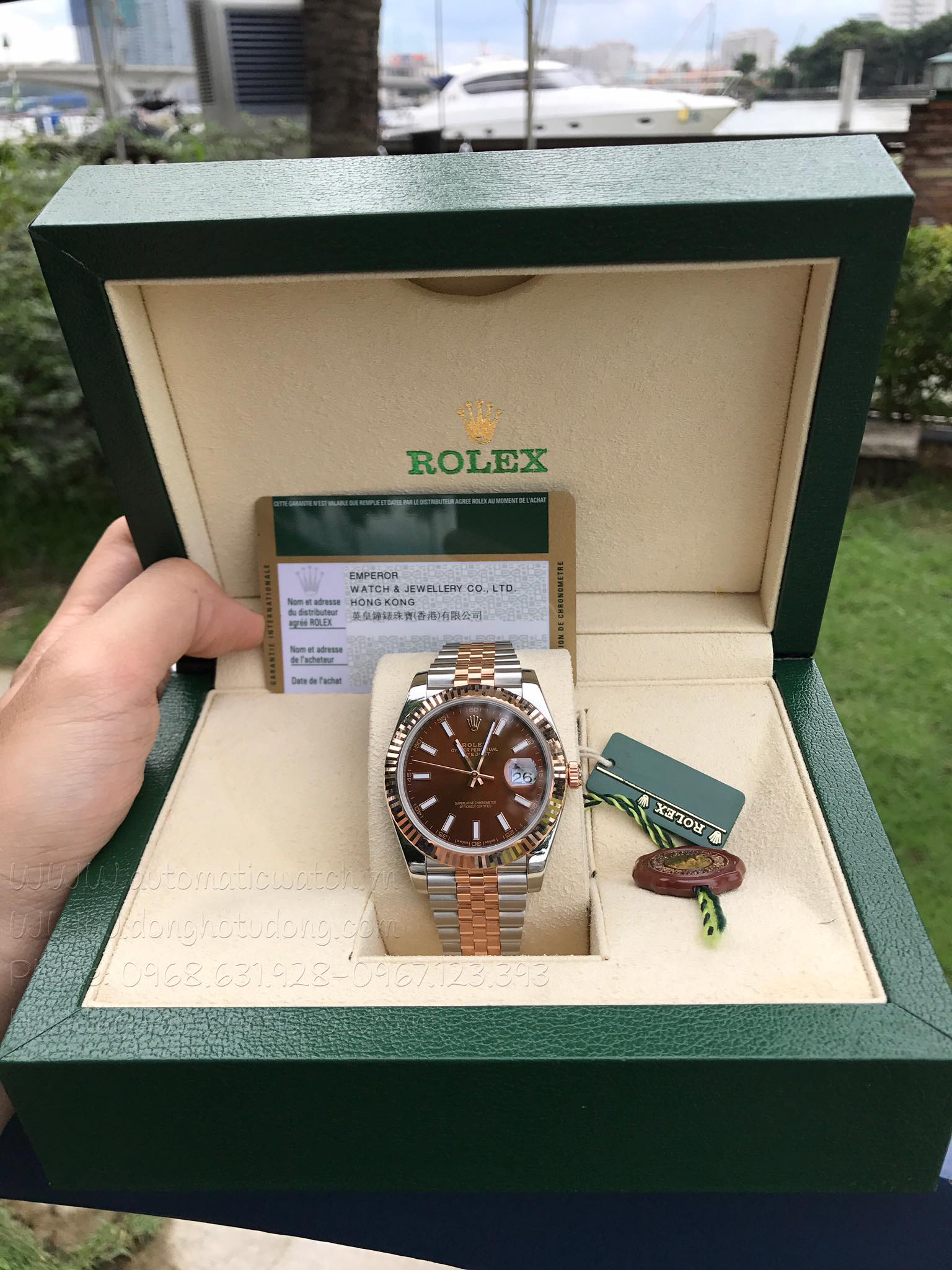 Đồng hồ ROLEX Datejust 41 Sundust Dial Steel and 18K Everose Gold  126331