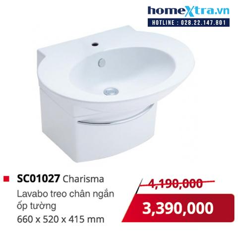 Chậu rửa mặt COTTO SC01027