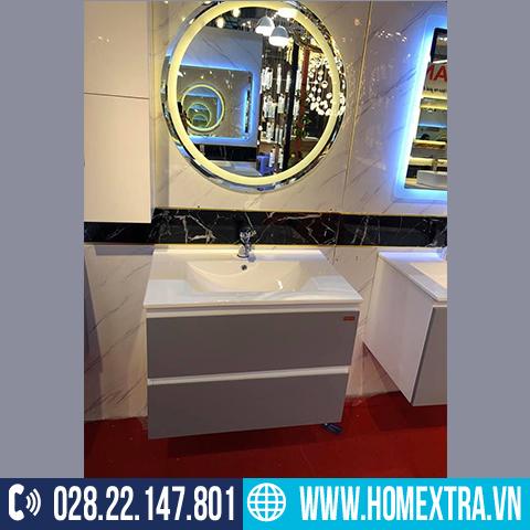 Tủ lavabo gương đèn led LB52