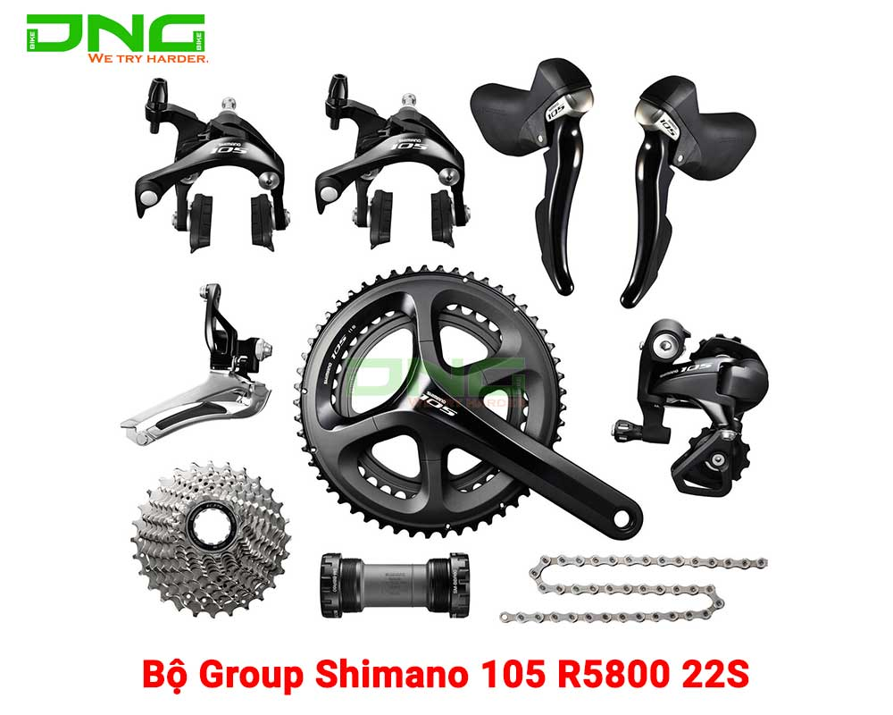 Bộ Group Shimano 105 R5800 22S