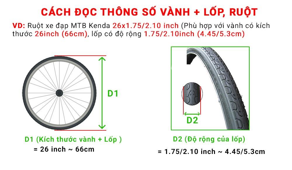 Vành xe đạp Alexrim DM18 26 inch 36 lỗ
