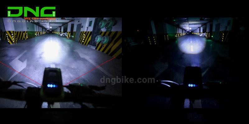 Đèn xe đạp có còiD912 2000mAh