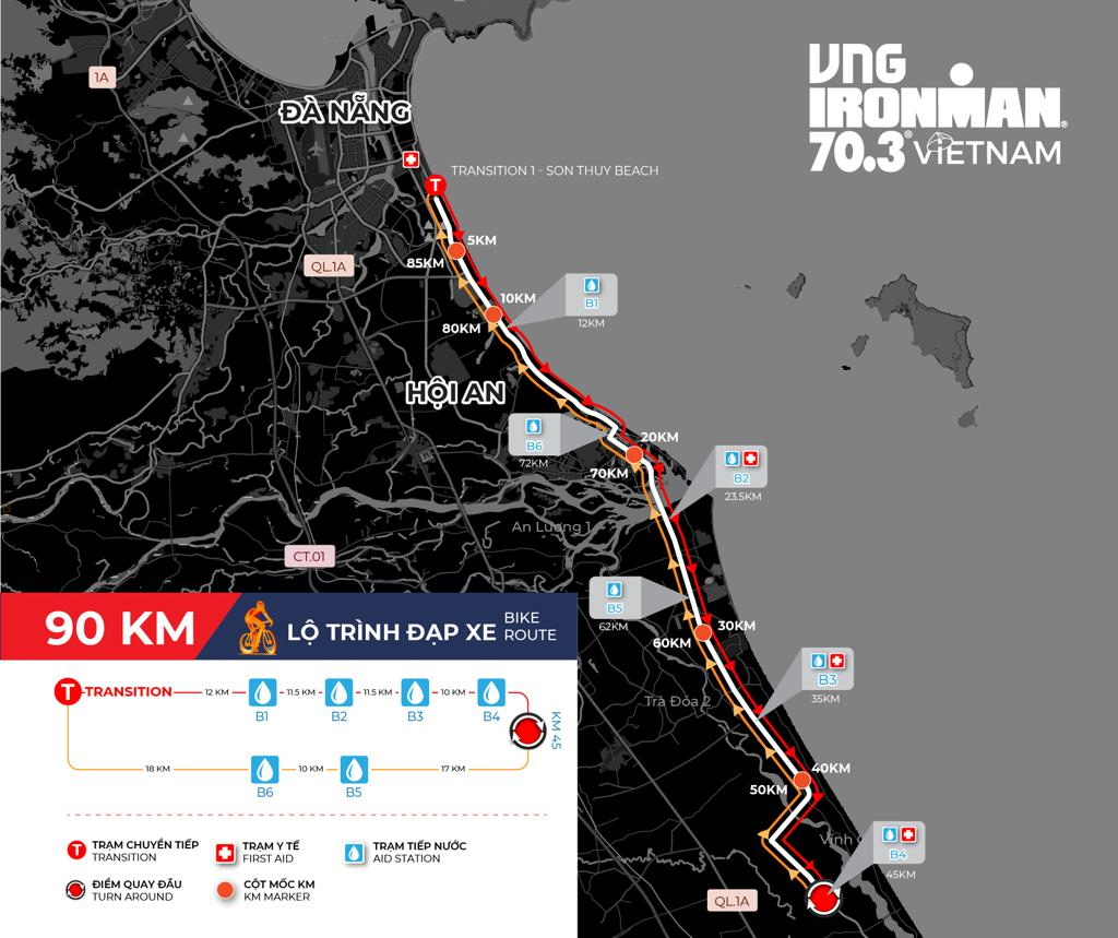 IRONMAN 70.3 Việt Nam lần thứ 6 tổ chức tại Đà Nẵng ngày 09/05/2021