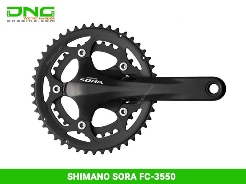 Giò dĩaSHIMANO SORA FC-3550 (50-34T)