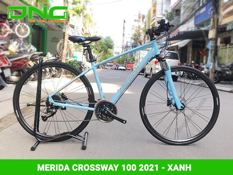 Xe đạp Touring MERIDA CROSSWAY 100 2021