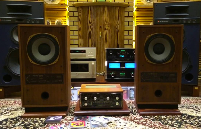 Loa Tannoy Super Red Monitor SRM 12 B