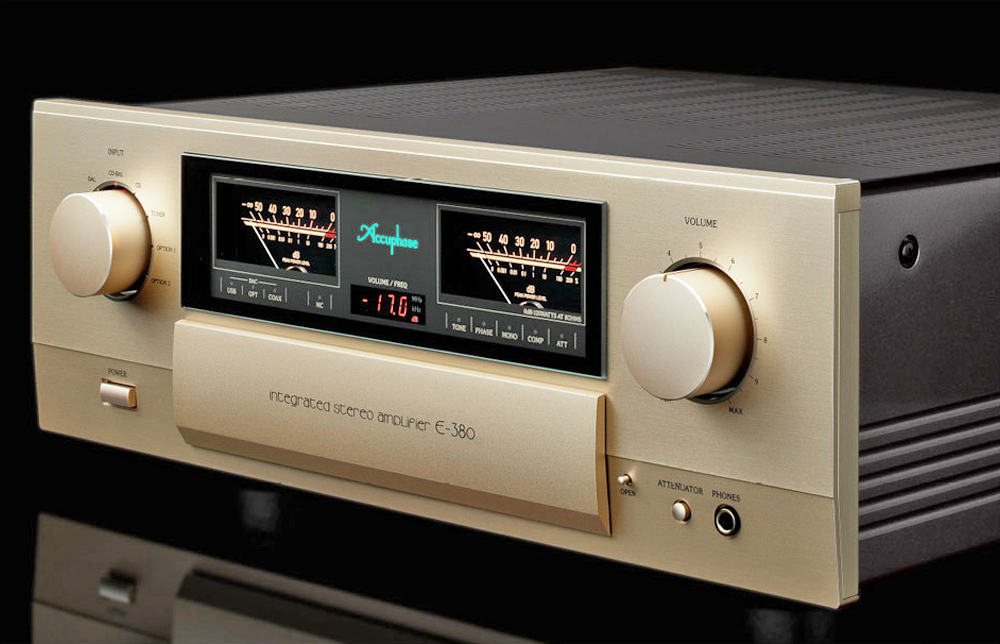 Bán Amply Accuphase E380
