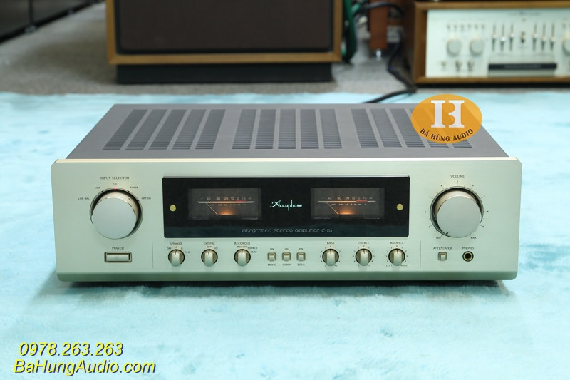 Amply Accuphase E213 Đẹp xuất sắc full phụ kiện
