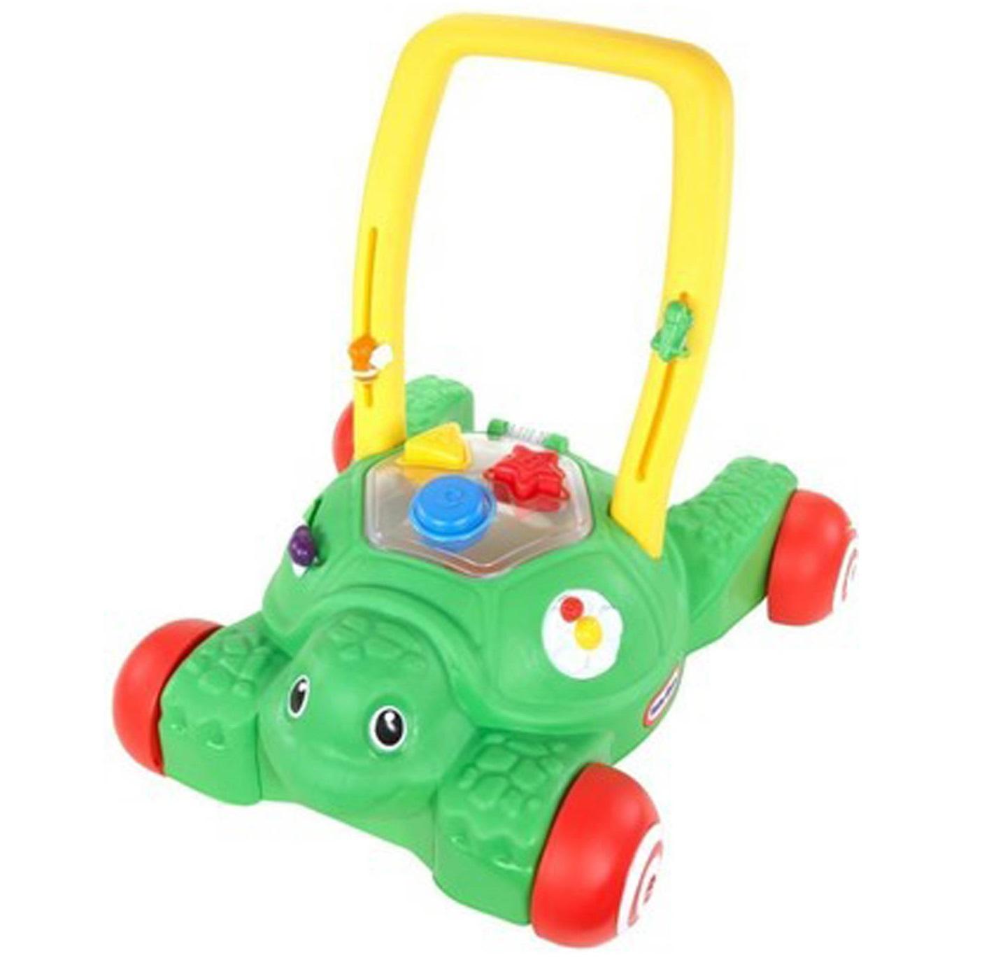 Xe đẩy tập đi kèm đồ chơi Little Tikes 2in1 Push