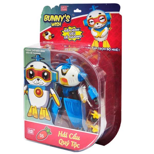 Robot Điều ước của Thỏ - Hải cẩu Quý Tộc