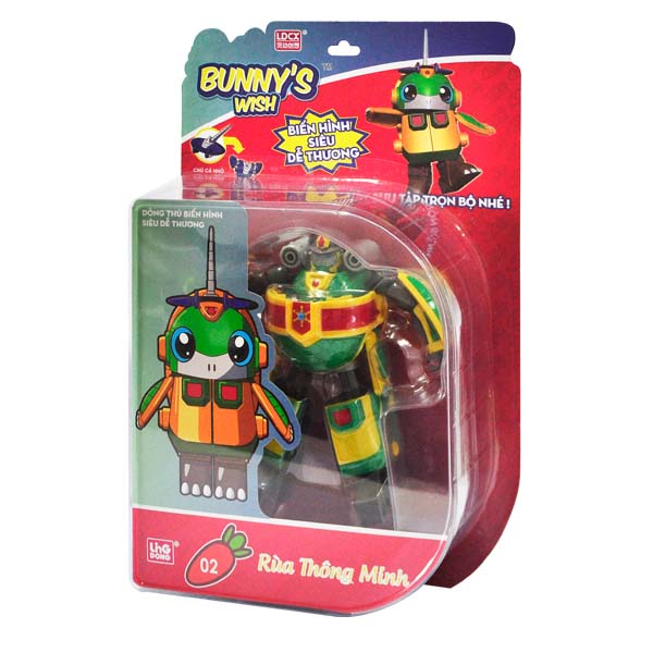 Robot Điều ước của Thỏ - Rùa Thông Minh