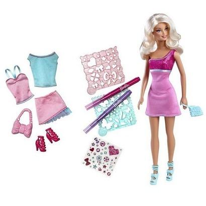 Búp bê Barbie - Bé cùng vui thiết kế BCF81