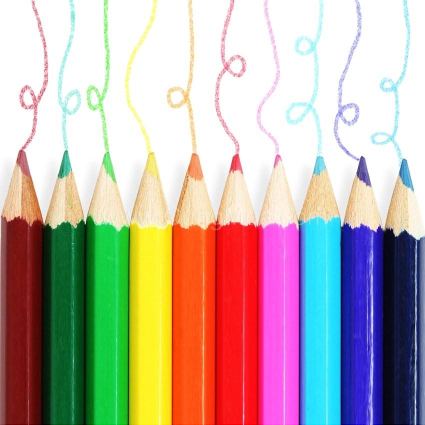 Bút chì màu gỗ Kiko 12 cây 24 màu