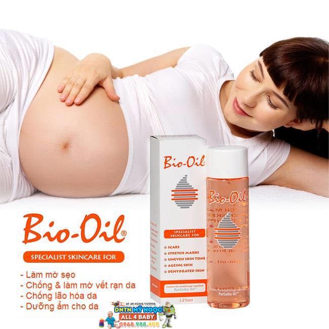 Tinh dầu Bio Oil chống rạn da, làm mờ sẹo 125ml (Úc)