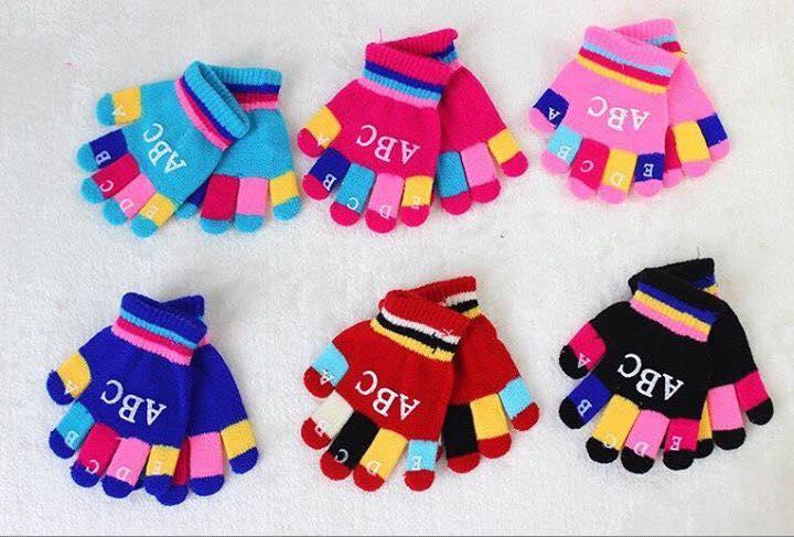 Găng tay mùa đông cho bé