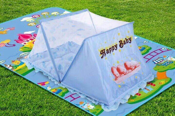 Mùng (màn) chụp Happy Baby cho bé loại vuông