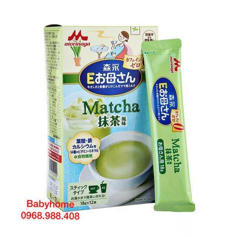 Sữa bầu Morinaga bầu vị matcha