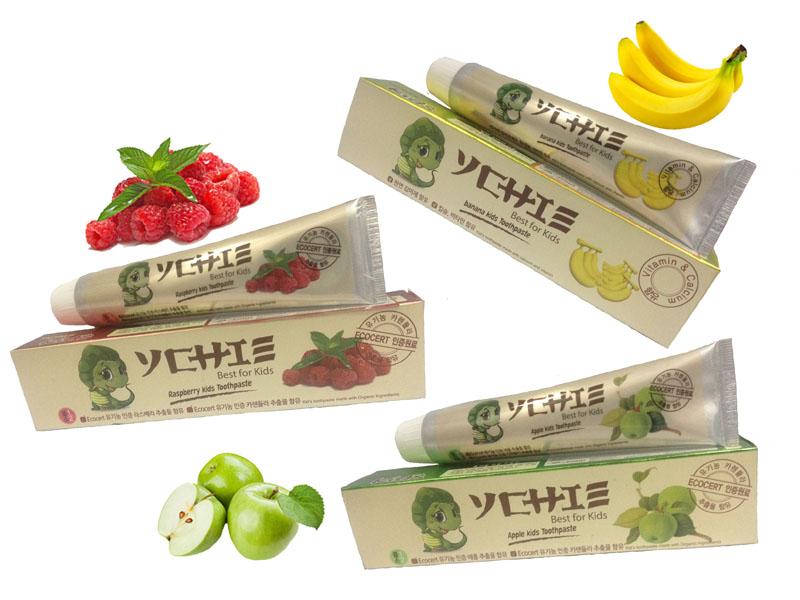 Bộ sản phẩm kem đánh răng Ychie+ bàn chải Navi (Hàn Quốc)