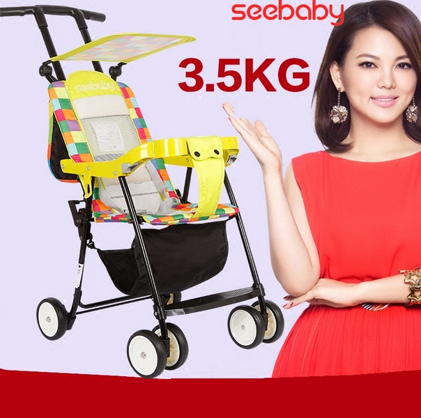 Xe đẩy Seebaby QQ1-1 có mái che