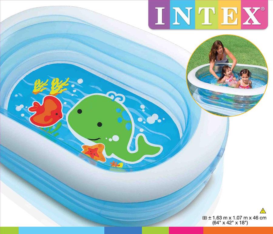 Hồ phao Intex cho bé hình oval 57482