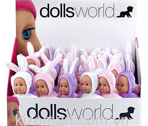 Búp bê Dolls World - Bé Thỏ đáng yêu 8533