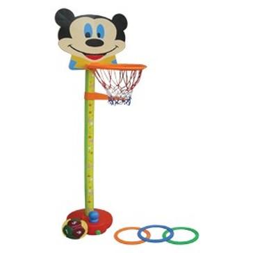 Bộ bóng rổ Nhựa Chợ Lớn 3 trong 1