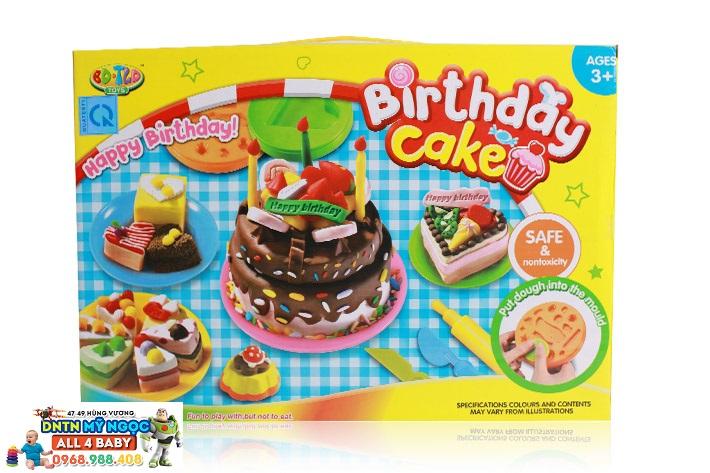 Bộ đồ chơi đất nặn làm bánh sinh nhật Birthday Cake