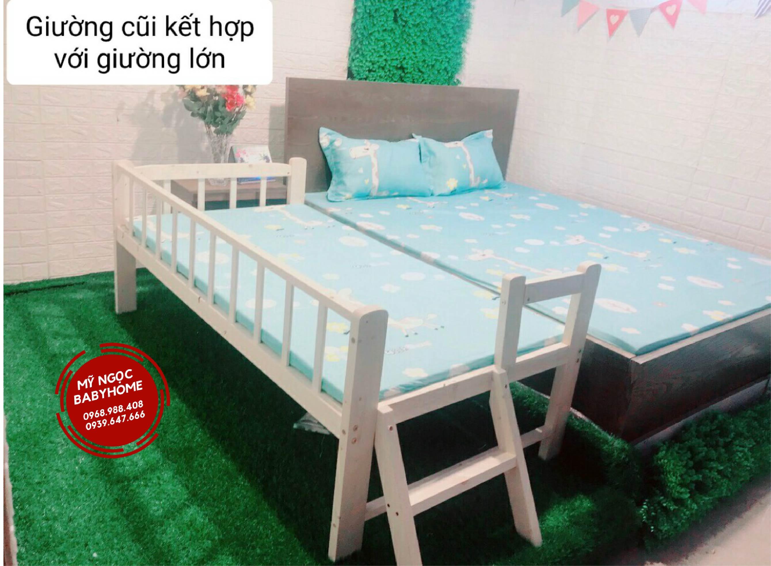 Chiếc giường cũi đa năng