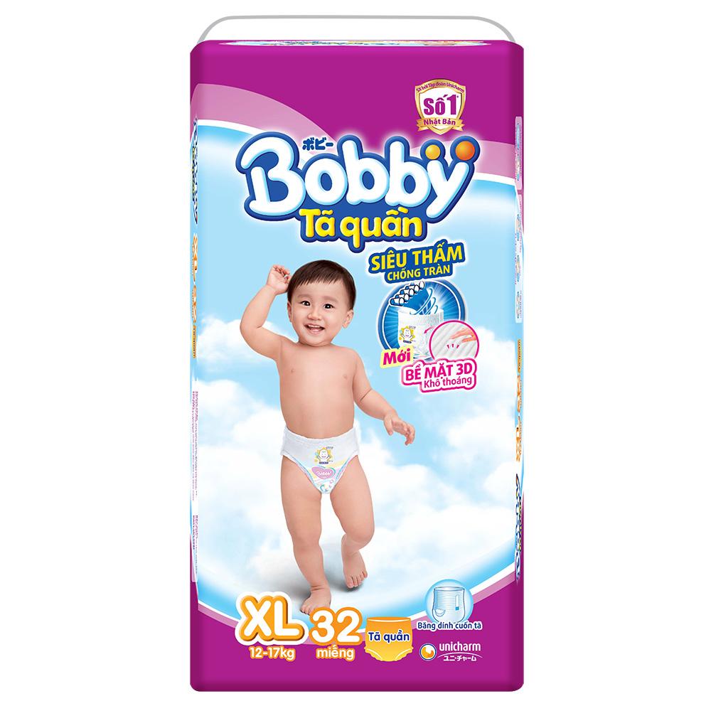 Tã quần Bobby XL32 dành cho bé 12 đến 17 kg