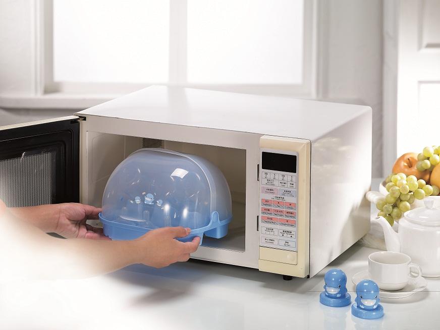 Máy tiệt trùng bình sữa bằng lò vi sóng