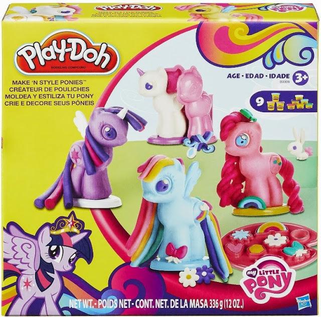 Bộ đất nặn Playdoh tạo hình Pony Make