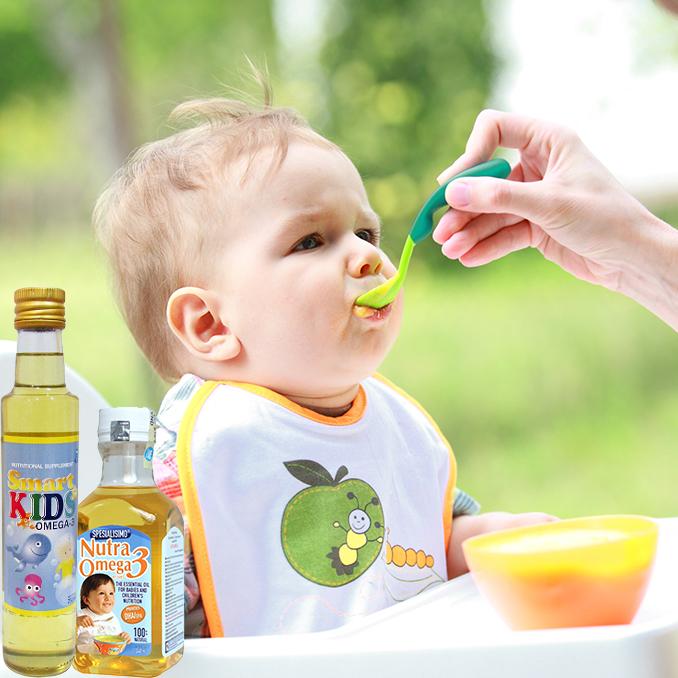 Dầu dinh dưỡng cá hồi Smart Kids Omega 3  250ml