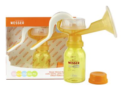 Máy hút sữa mẹ bằng tay Wesser - máy hút sữa Hàn Quốc tiện dụng cao cấp