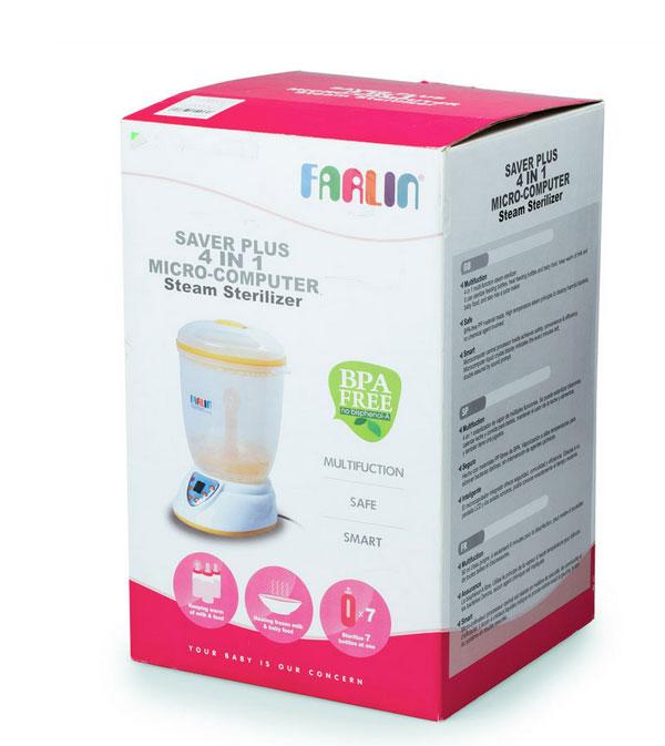 Máy tiệt trùng bình sữa Farlin TOP-214