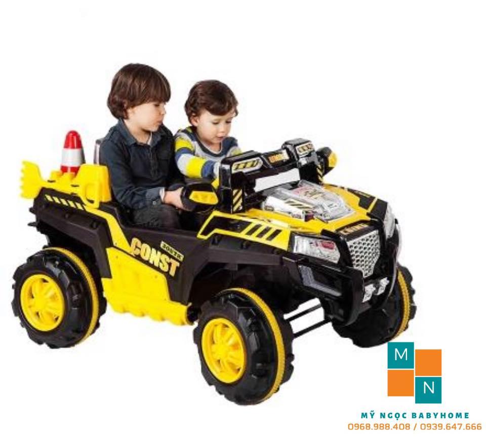 Xe ô tô điện 2 chỗ ngồi hầm hố NEL803
