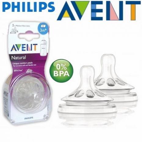 Núm tyAventcổ rộng Silicone BPA free