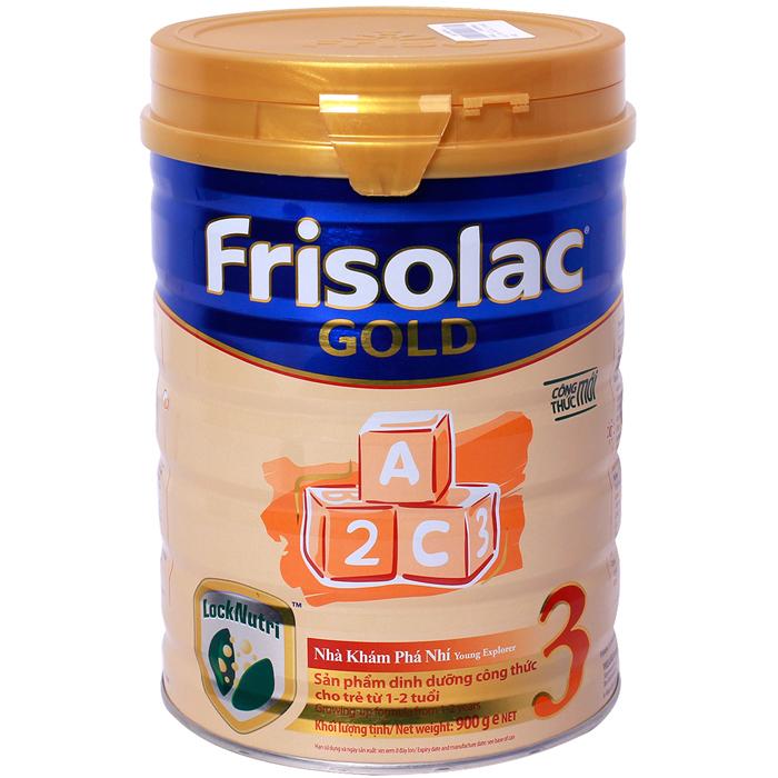 Sữa Frisolac Gold số 3- 900g (1-2 tuổi)